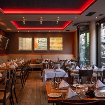 Bild der Dankstelle Qube Restaurant Bergheim