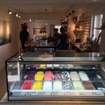 Bild der Dankstelle Eiscafe ok kool