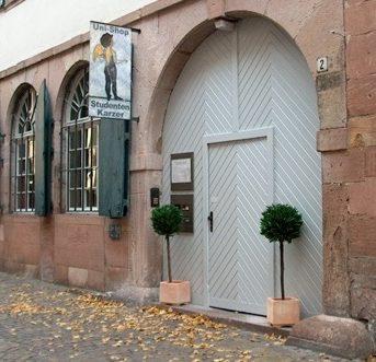 Bild der Dankstelle Unishop Heidelberg