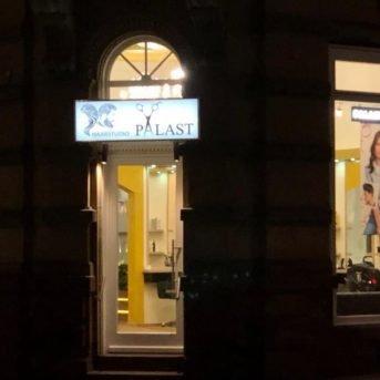 Bild der Dankstelle Haarstudio Palast