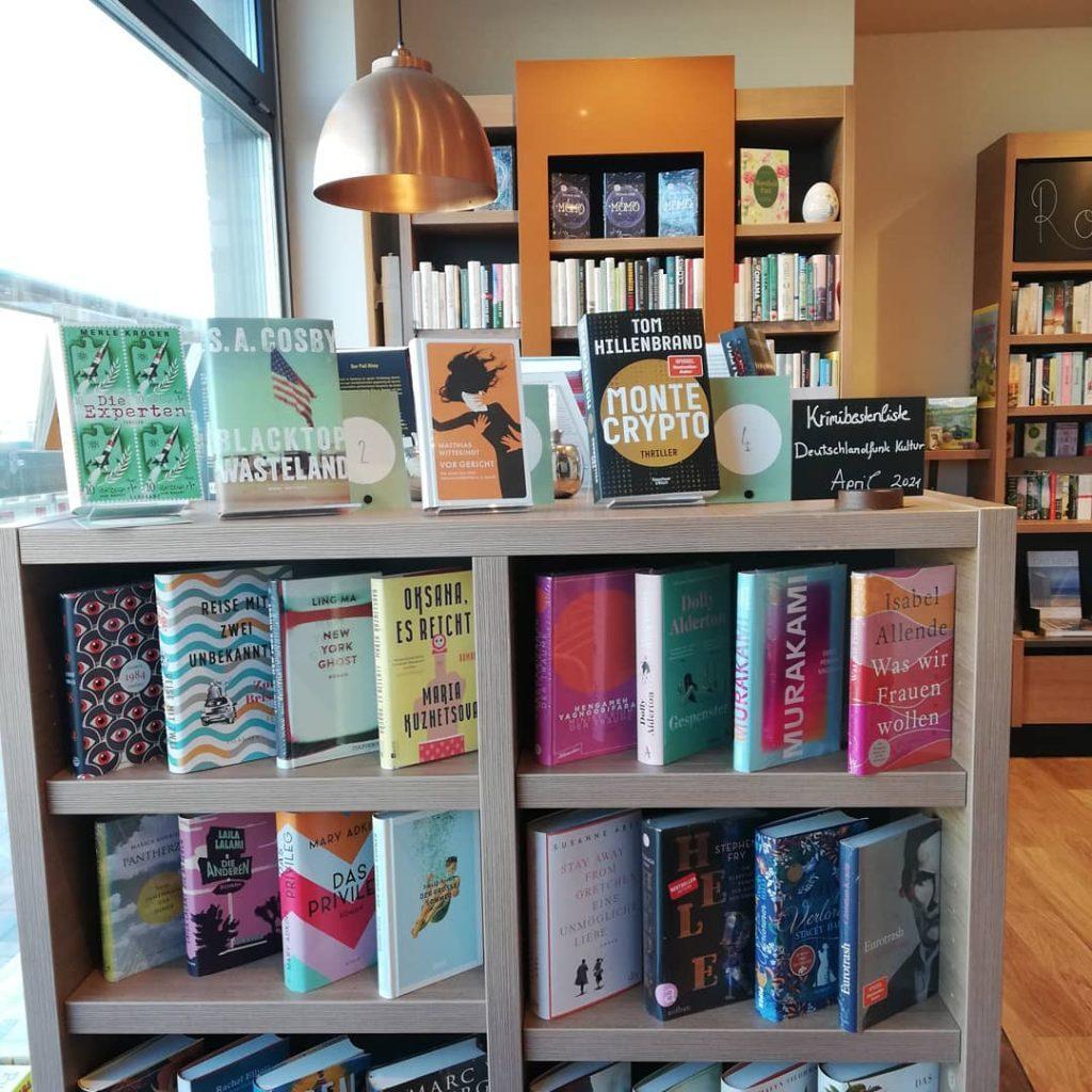 Bild der Dankstelle Bücherglück Petras Bahnstadtbuchhandlung