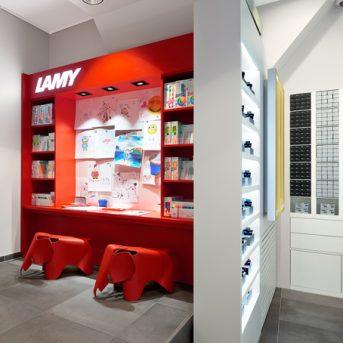 Bild der Dankstelle Lamy Flagship-Store