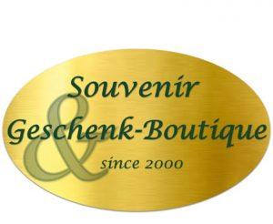 Logo der Dankstelle Souvenir & Geschenk-Boutique.