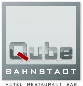 Logo der Dankstelle Qube Restaurant Bahnstadt
