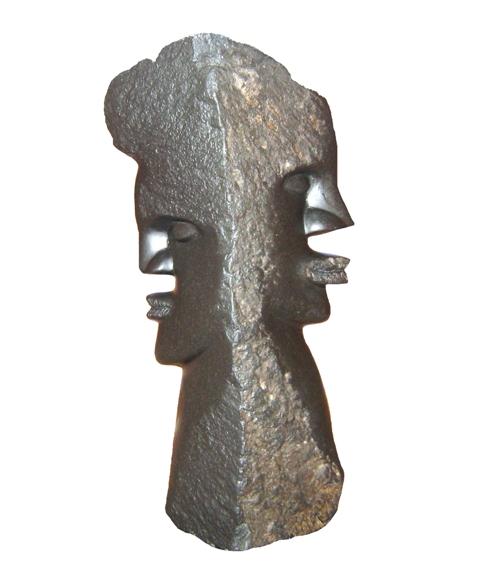 Bild der Dankstelle Steinskulpturen Stanford Fata
