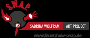 Logo der Dankstelle S.W.A.P. Sabrina Wolfram ART PROJECT