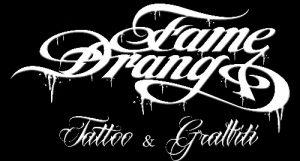 Logo der Dankstelle FameDrang …..Tattoos & Graffiti