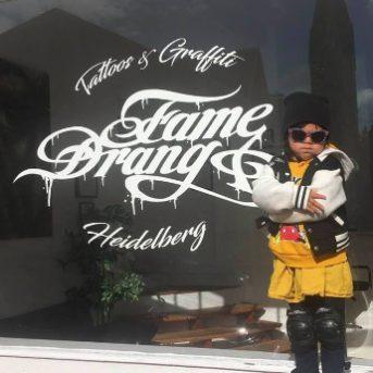 Bild der Dankstelle FameDrang …..Tattoos & Graffiti