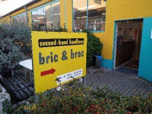 Logo der Dankstelle bric & brac Secondhandgeschäft