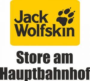 Logo der Dankstelle JACK WOLFSKIN STORE am Hauptbahnhof