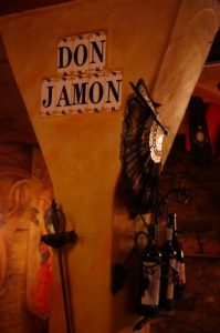 Logo der Dankstelle Bodega Don Jamón