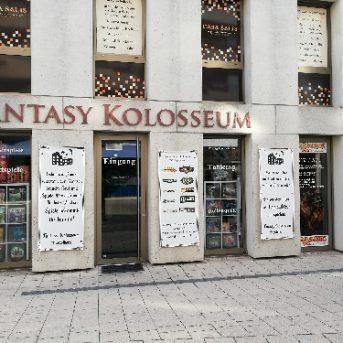 Bild der Dankstelle Fantasy Kolosseum