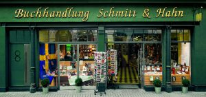 Logo der Dankstelle Buchhandlung Schmitt & Hahn