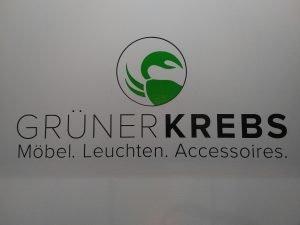 Logo der Dankstelle Grüner Krebs
