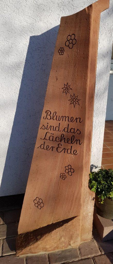Bild der Dankstelle Blumenhaus Rosenbach