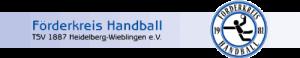Logo der Dankstelle FÖRDERKREIS HANDBALL TSV 1887 Wieblingen e.V.