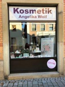 Logo der Dankstelle Kosmetik Angelika Wolf