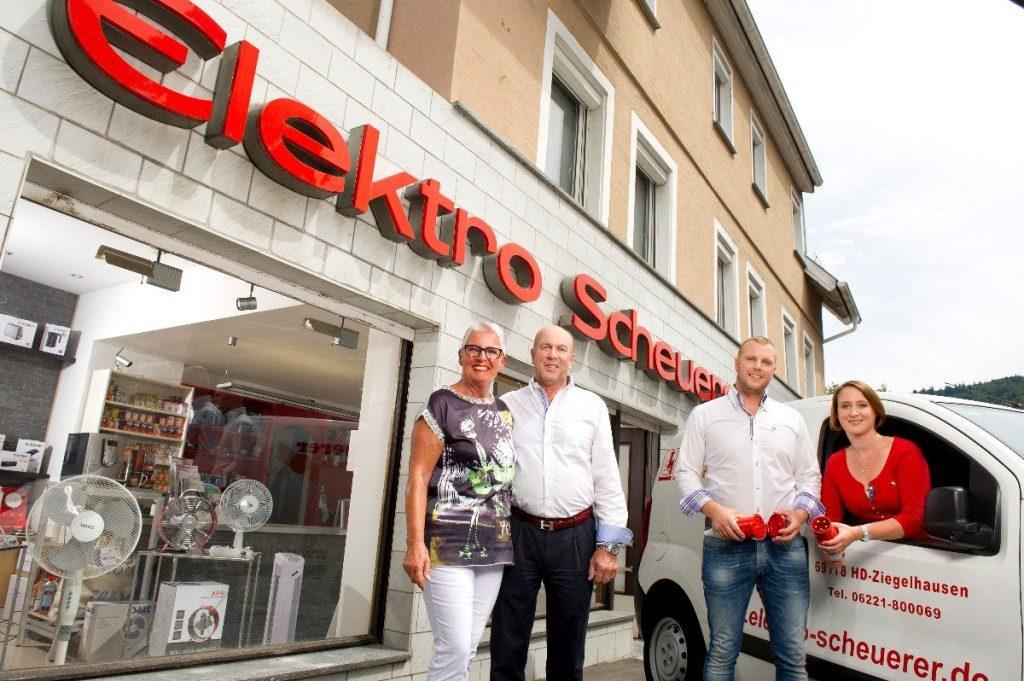 Bild der Dankstelle Elektro Scheuerer OHG