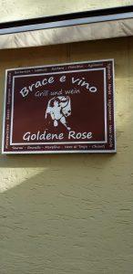 Logo der Dankstelle Ristorante Goldene Rose