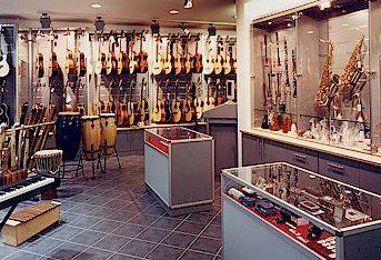 Bild der Dankstelle Musikhaus Hochstein