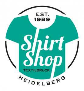 Logo der Dankstelle Shirt Shop Heidelberg