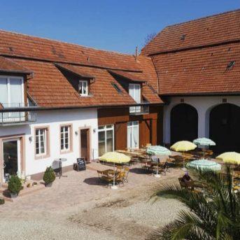 Bild der Dankstelle Landcafé Gästehaus Walnuss