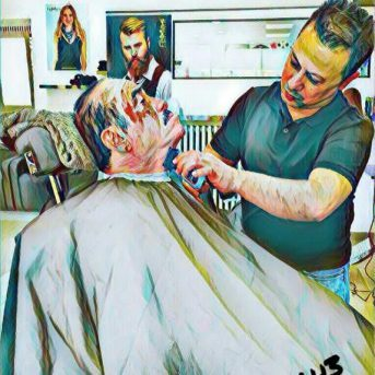 Bild der Dankstelle Haarband Frisursalon