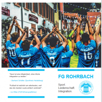 Bild der Dankstelle Fussballgemeinschaft Rohrbach 2012 e.V.