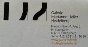 Logo der Dankstelle Galerie Marianne Heller
