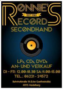 Logo der Dankstelle Ronnie` s Records