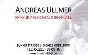 Logo der Dankstelle ANDREAS ULLMER Friseur am Eichendorffplatz