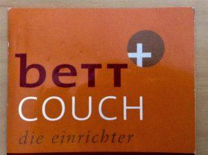 Logo der Dankstelle Bett und Couch, die Einrichter