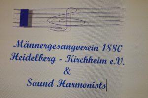 Logo der Dankstelle Männergesangverein 1880 Heidelberg – Kirchheim e.V.