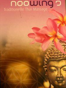 Logo der Dankstelle Noowings trad. Thaimassage