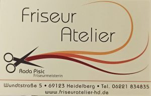 Logo der Dankstelle Friseur Atelier