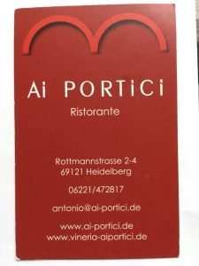 Logo der Dankstelle Ristorante Ai Portici