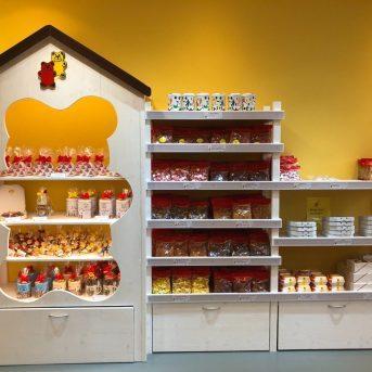 Bild der Dankstelle Bären-Treff. Der Fruchtgummi-Laden