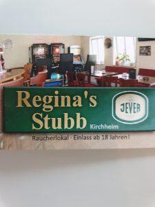 Logo der Dankstelle Reginas-Stubb