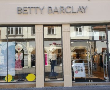 Bild der Dankstelle Betty Barclay Store