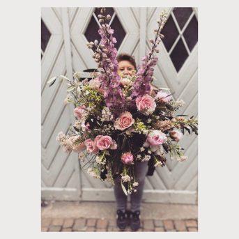 Bild der Dankstelle Blume sucht Vase