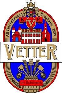 Logo der Dankstelle Vetter's Alt Heidelberger Brauhaus – Die Gasthausbrauerei im Herzen der Heidelberger Altstadt