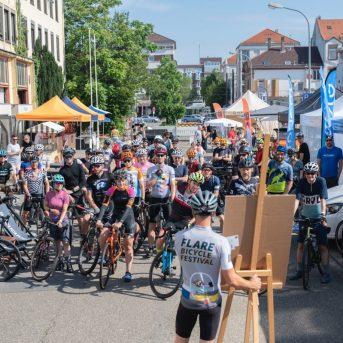 Bild der Dankstelle Flare Bicycle Festival