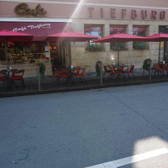 Bild der Dankstelle Café Tiefburg