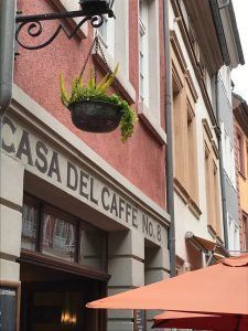 Logo der Dankstelle Casa del Caffe