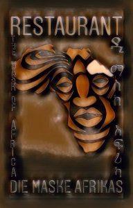 Logo der Dankstelle Restaurant Die Maske Afrikas