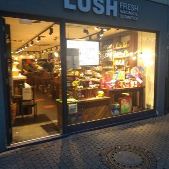 Bild der Dankstelle Lush GmbH