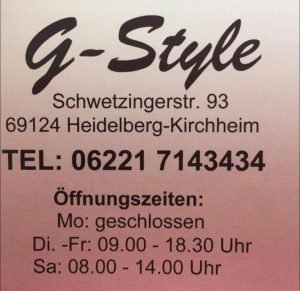 Logo der Dankstelle G-Style Friseursalon