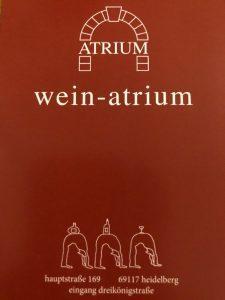 Logo der Dankstelle Wein Atrium