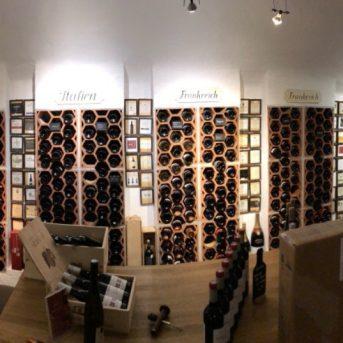 Bild der Dankstelle Wein Atrium
