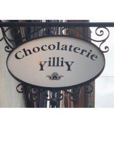 Logo der Dankstelle Chocolaterie YilliY